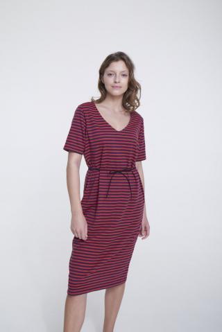 Big Star Womans Dress 340060 -603 dámské Red S