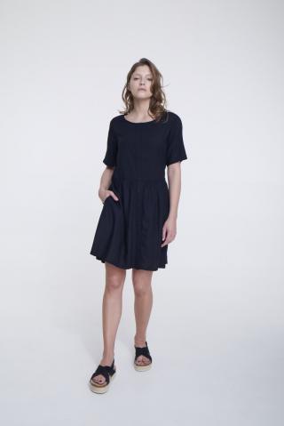 Big Star Womans Dress 340069 -906 dámské Black S