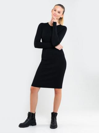 Big Star Womans Dress 340075 -906 dámské Black M