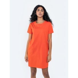 Big Star Womans -- Dress 340100 Brak Knitted-603 dámské Red L