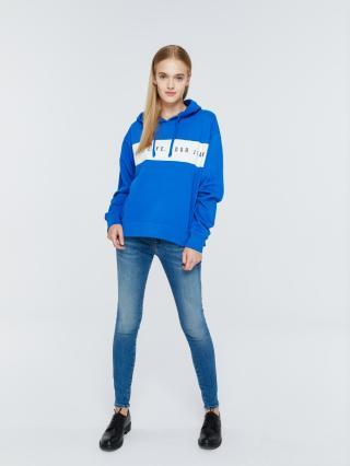 Big Star Womans Hooded Sweatshirt 158798 -405 dámské Blue L