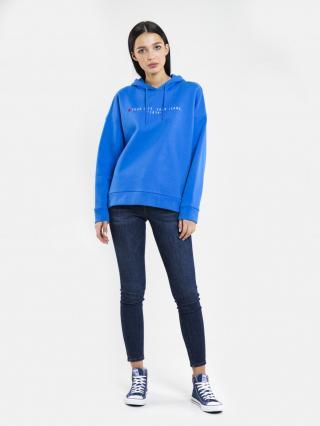Big Star Womans Hooded Sweatshirt 174254 -401 dámské Blue M