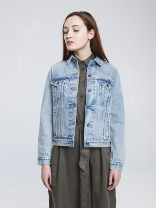 Big Star Womans Jacket 130189 -340 dámské Medium Jeans S