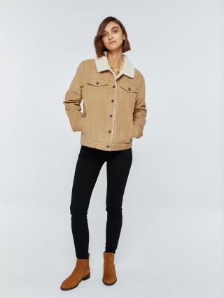 Big Star Womans Jacket 131942 -800 dámské Gold XS