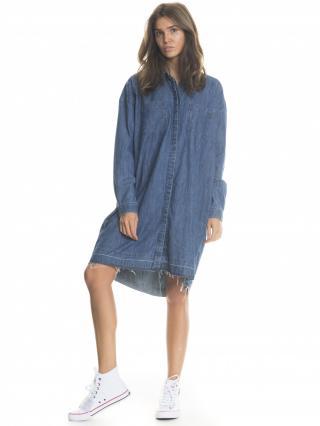 Big Star Womans Longsleeve Shirt 145673 -305 dámské Medium Jeans L