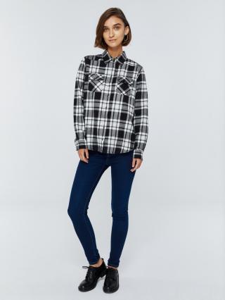 Big Star Womans Longsleeve Shirt 145717 -906 dámské Black XXL