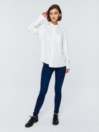 Big Star Womans Longsleeve Shirt 145724 -102 dámské Cream S