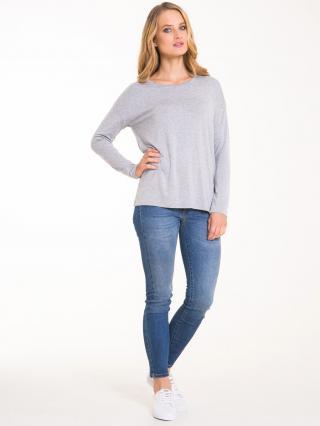 Big Star Womans Longsleeve T-shirt 158283 Dark -991 dámské Grey S