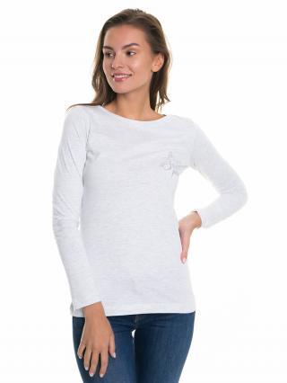 Big Star Womans Longsleeve T-shirt 158667 Light -925 dámské Grey XXL