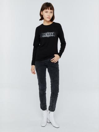 Big Star Womans Longsleeve T-shirt 158820 -906 dámské Black L