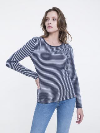Big Star Womans Longsleeve T-shirt 158847 -403 dámské Blue S