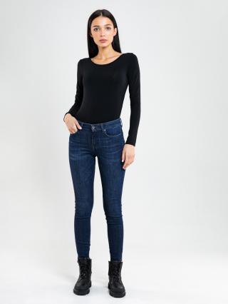 Big Star Womans Longsleeve T-shirt 180001 -906 dámské Black M