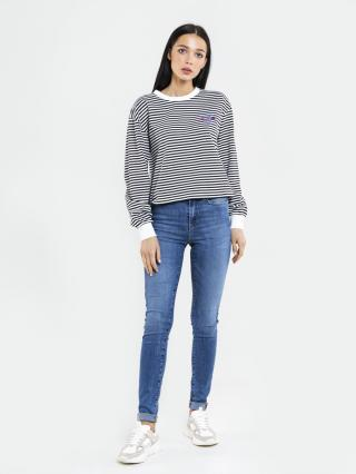 Big Star Womans Longsleeve T-shirt 180004 -100 dámské White L