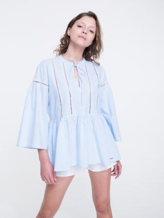 Big Star Womans Shirt 145741 Light -400 dámské Blue M
