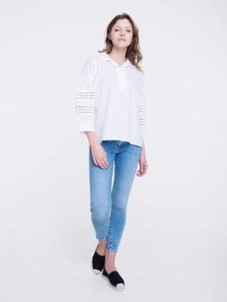 Big Star Womans Shirt 145746 -100 dámské White L