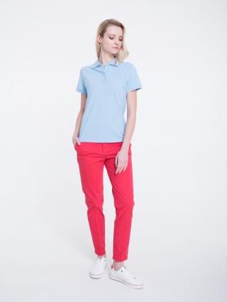 Big Star Womans Shortsleeve Polo T-shirt 158856 -401 dámské Blue M