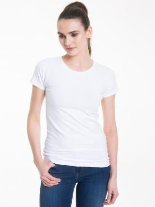 Big Star Womans Shortsleeve T-shirt 150021 -110 dámské White S
