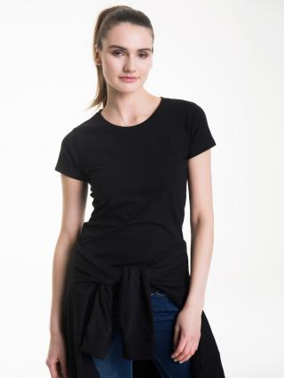 Big Star Womans Shortsleeve T-shirt 150021 -900 dámské Black XL