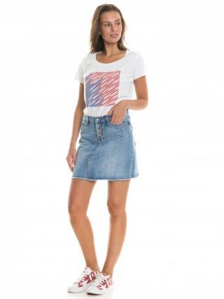 Big Star Womans Shortsleeve T-shirt 158755 -101 dámské Cream L
