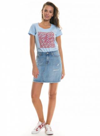 Big Star Womans Shortsleeve T-shirt 158756 Light -406 dámské Blue M