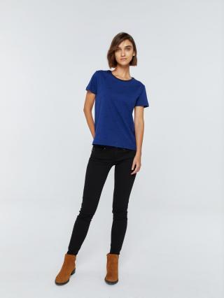 Big Star Womans Shortsleeve T-shirt 158779 Navy Blue-465 dámské XS