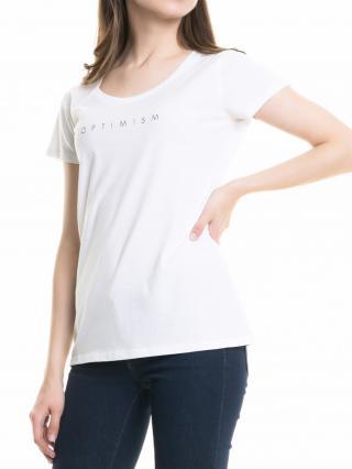 Big Star Womans Shortsleeve T-shirt 158784 -110 dámské White S