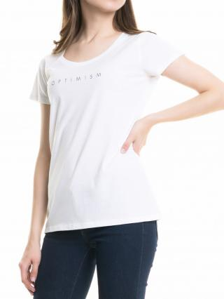 Big Star Womans Shortsleeve T-shirt 158784 -110 dámské White XXL