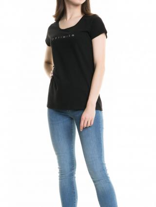 Big Star Womans Shortsleeve T-shirt 158784 -900 dámské Black M