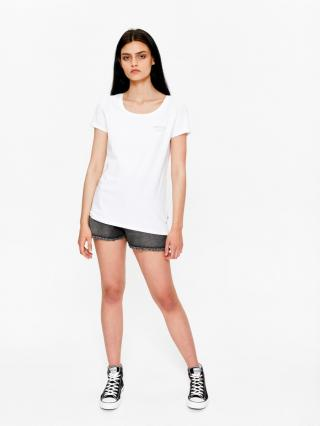 Big Star Womans Shortsleeve T-shirt 158788 -110 dámské White L