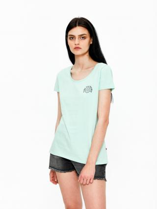 Big Star Womans Shortsleeve T-shirt 158789 -315 dámské Green M