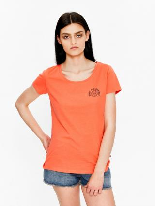 Big Star Womans Shortsleeve T-shirt 158789 -680 dámské Red M