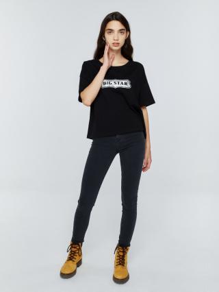 Big Star Womans Shortsleeve T-shirt 158814 -906 dámské Black S