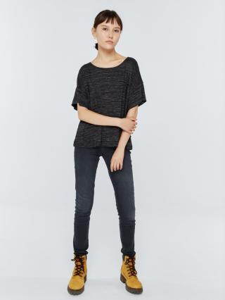Big Star Womans Shortsleeve T-shirt 158816 -905 dámské Black M