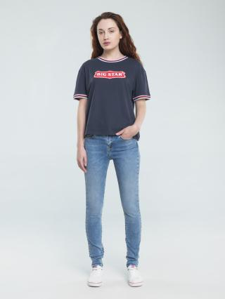 Big Star Womans Shortsleeve T-shirt 158846 -403 dámské Blue L