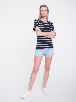Big Star Womans Shortsleeve T-shirt 158848 -906 dámské Black L