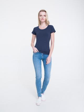 Big Star Womans Shortsleeve T-shirt 158849 -403 dámské Blue L