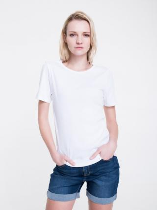 Big Star Womans Shortsleeve T-shirt 158851 -100 dámské White L
