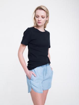 Big Star Womans Shortsleeve T-shirt 158851 -906 dámské Black L