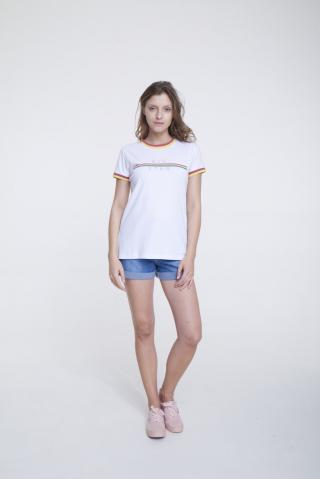 Big Star Womans Shortsleeve T-shirt 158853 -201 dámské White S