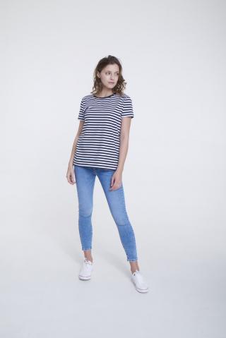 Big Star Womans Shortsleeve T-shirt 158867 -906 dámské Black XL