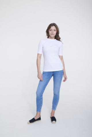 Big Star Womans Shortsleeve T-shirt 158878 -100 dámské White S