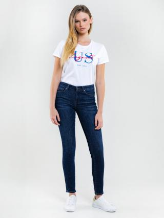 Big Star Womans Shortsleeve T-shirt 158892 -101 dámské Cream M