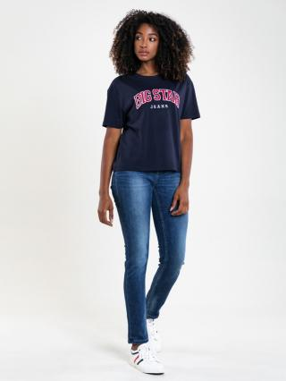Big Star Womans Shortsleeve T-shirt 158900 -403 dámské Blue L