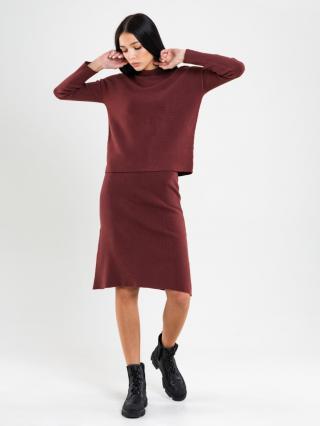 Big Star Womans Skirt 120169 Light -803 dámské Brown L