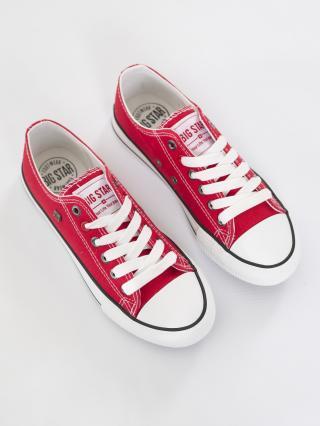 Big Star Womans Sneakers 203160 -603 dámské Red 41