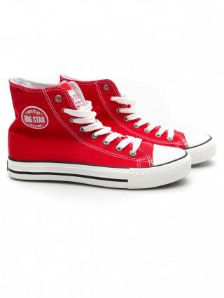 Big Star Womans Sneakers 203164 -603 dámské Red 41