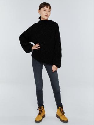 Big Star Womans Sweater 161987 -906 dámské Black L