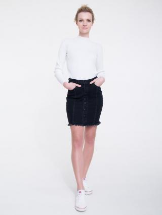 Big Star Womans Sweater 161999 -100 dámské White M
