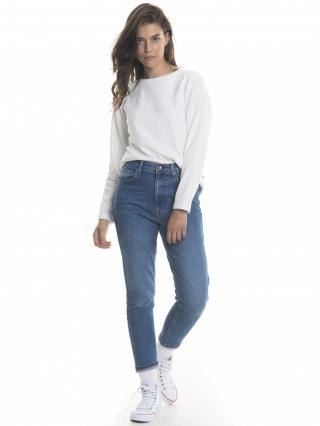 Big Star Womans Sweatshirt 158692 -110 dámské White L