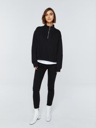 Big Star Womans Sweatshirt 158804 -900 dámské Black M